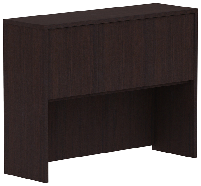 Image for Lorell Hutch with Doors, 48 Inches, Espresso from School Specialty