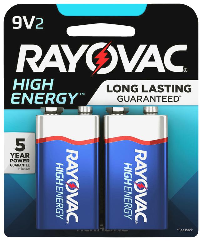 9V Batteries, Item Number 2048914