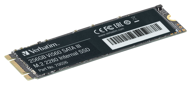 Image for Verbatim VI560 256 GB Drive M.2 2280 Internal from School Specialty