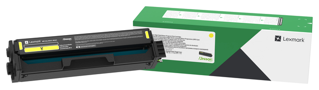 Image for Lexmark Unison Toner Yellow LEXC341XY0 from School Specialty