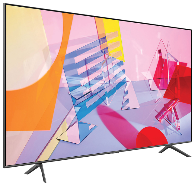 Image for Samsung Q60T QN55Q60TAF 54.6 IN 4K Smart LED LCD TV from School Specialty