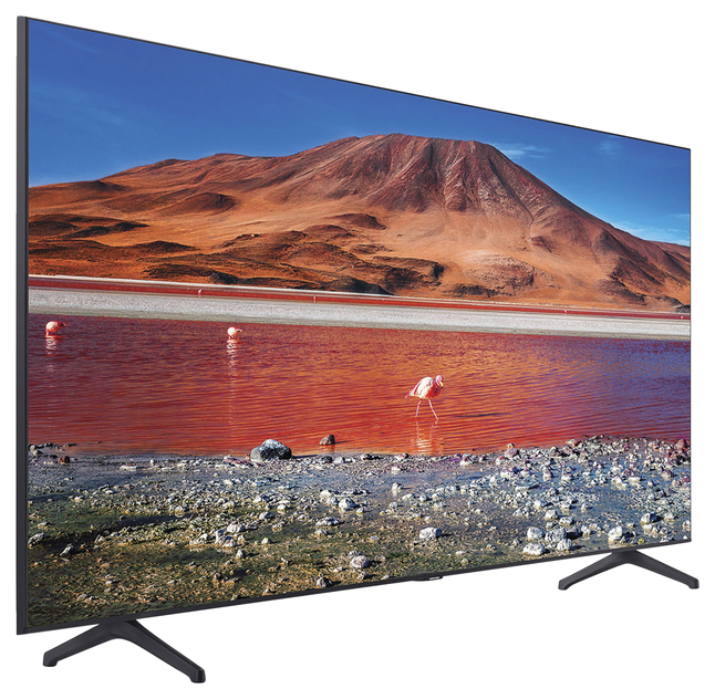 Image for Samsung Crystal TU7000 UN55TU7000F 54.6 IN 4K Smart LED LCD TV from School Specialty