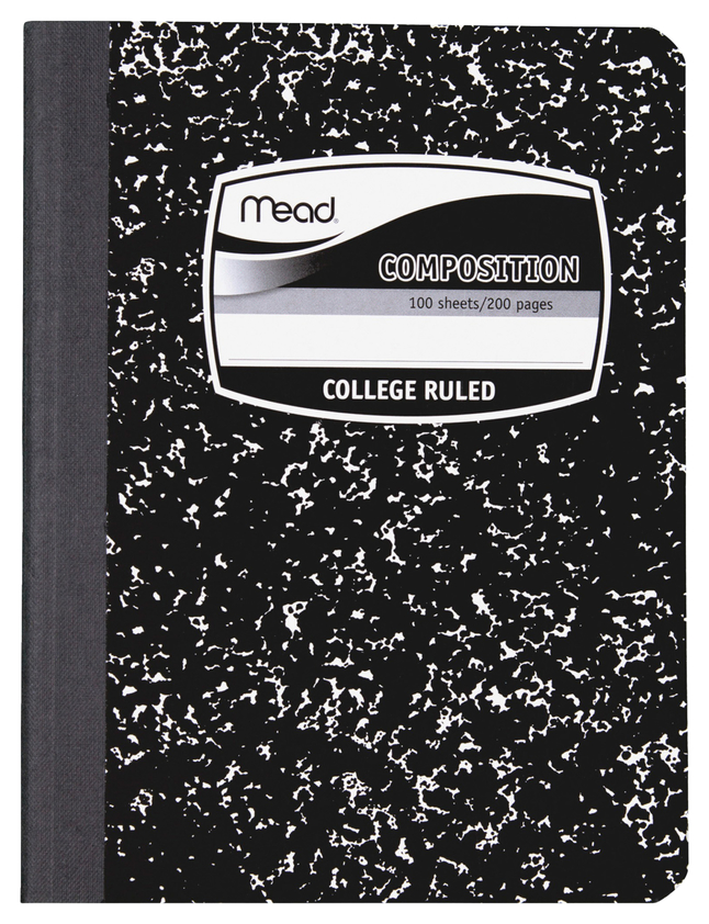 Composition Books & Notebooks, Item Number 2049396