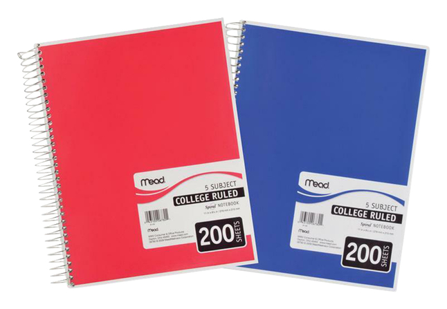 Wirebound Notebooks, Item Number 2049400