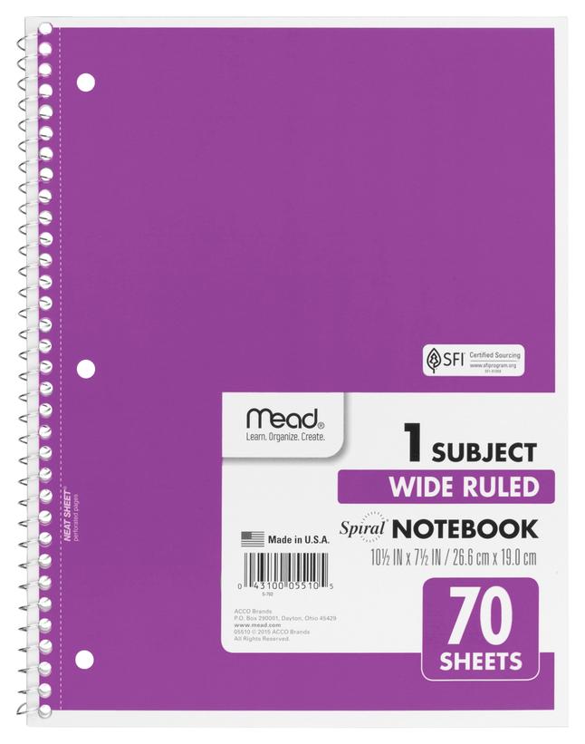 Wirebound Notebooks, Item Number 2049401
