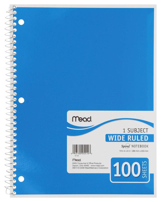 Wirebound Notebooks, Item Number 2049402