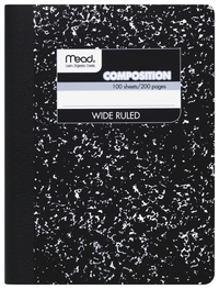 Composition Books & Notebooks, Item Number 2049418