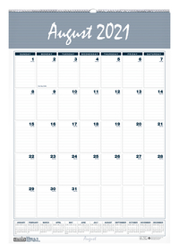 Image for House of Doolittle Bar Harbor Academic Wall Calendar, August 2021 to July 2022 from School Specialty