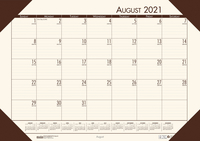 Image for House of Doolittle Ecotones Calendar Desk Pad, August 2021 to July 2022 from School Specialty