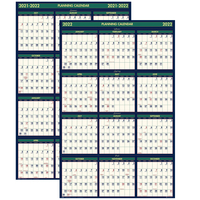 Image for House of Doolittle Four Seasons Reversible Wall Planner, 18 Months from School Specialty
