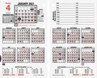 Planner Refills and Calendar Refills, Item Number 2049896