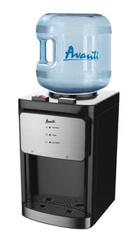 Image for Avanti Countertop Water Dispenser, 5 Gallon, Black from School Specialty