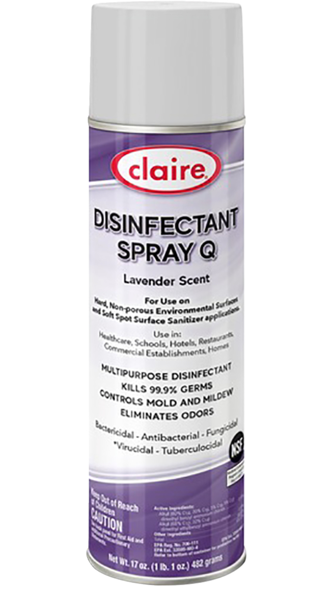 Image for Claire Multipurpose Disinfectant Spray from School Specialty