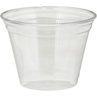 Image for Dixie Plastic Cold Cups, 9 Ounce, Clear, Pack of 50 from SSIB2BStore