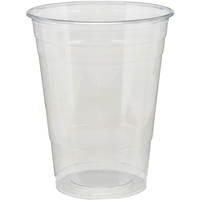 Image for Dixie Plastic Cold Cups, 16 Ounces, Clear, Pack of 500 from SSIB2BStore