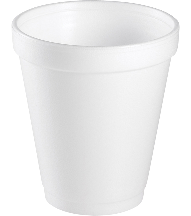 Image for Dart Insulated Foam Cups, 8 Ounce, Pack of 1000 from School Specialty