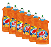 Image for Colgate Palmolive Ajax Dish Liquid, Citrus Scent, 52 Ounces, Case of 6 from School Specialty