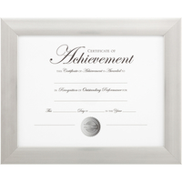 Image for Dax Document Frame, 8-1/2 x 11 Inches, Natural Wood from School Specialty