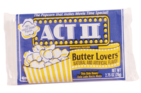 Image for ACT II Butter Lovers Microwave Popcorn, Case of 36 from School Specialty