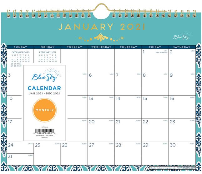Calendars, Item Number 2050034