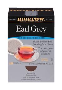Image for Bigelow Earl Grey Black Tea Pods Tea Bag - Black Tea - Earl Grey, Chamomile - 1.9 oz - 108 Teabag - GMO Free - Kosher - 6 Box from School Specialty