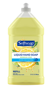 Image for Softsoap Hand Soap Refill, Citrus Scent, 32 Ounces from School Specialty