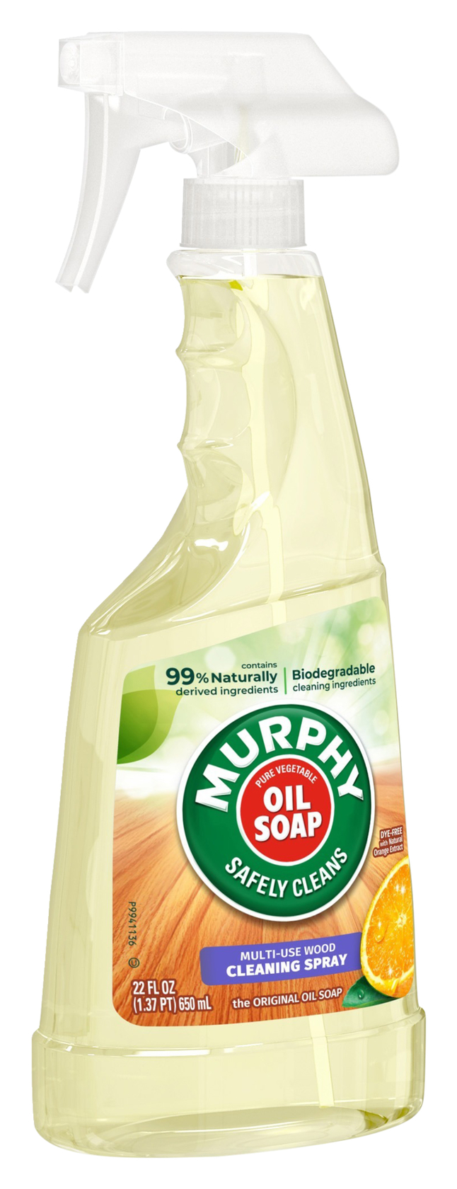Image for Murphy Oil Soap Wood Cleaner, Fresh Orange Scent, 22 Ounces, Case of 9 from School Specialty