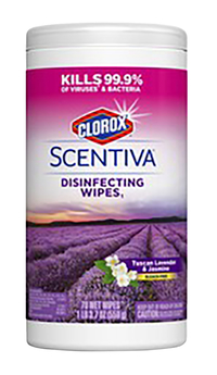 Image for Clorox Scentiva Disinfectant Wipes, Lavender Scent, 70 Count from School Specialty