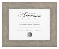 Image for Dax Document Frame, 16 x 13 Inches, Natural Wood from School Specialty