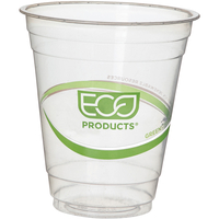 Image for Eco Products Plastic Cold Cups, 12 Ounce, Clear, Pack of 50 from SSIB2BStore