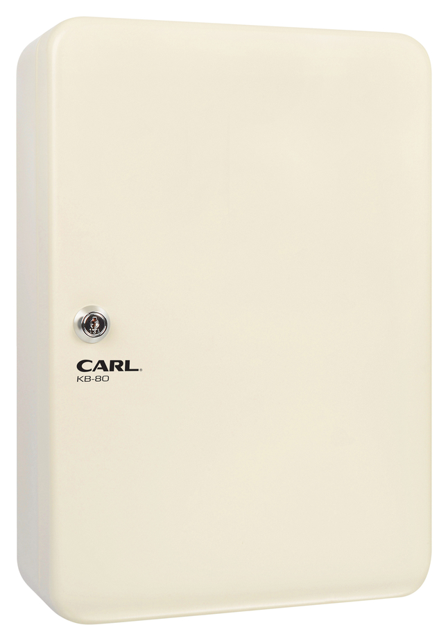 Image for Carl Mfg Steel Security Key Cabinet, 12-1/2 x 9 Inches, Ivory from School Specialty