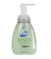 Image for Dial Basics HypoAllergenic Foaming Hand Soap, 7.5 Fluid Ounces, Green from School Specialty