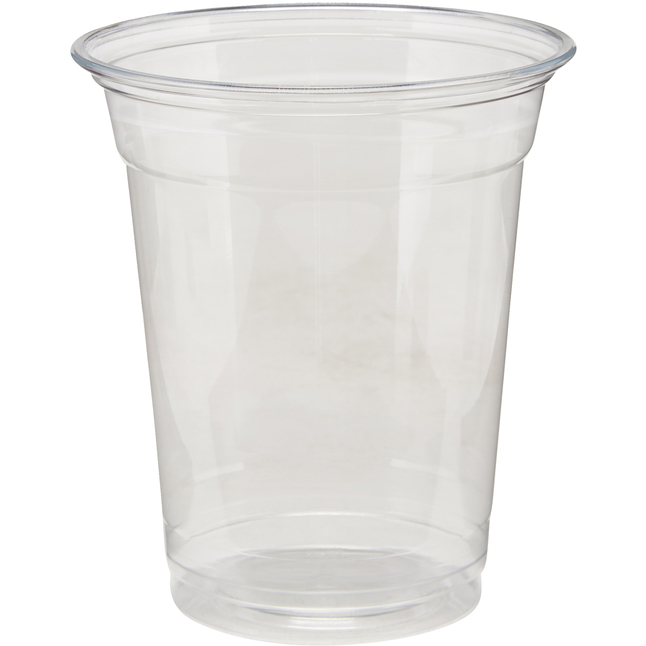 Image for Dixie Plastic Cold Cups, 12 Ounces, Clear, Pack of 25 from School Specialty