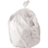 Image for Genuine Joe High-Density Waste Bags, 60 Gallon, Black, Pack of 200 from School Specialty