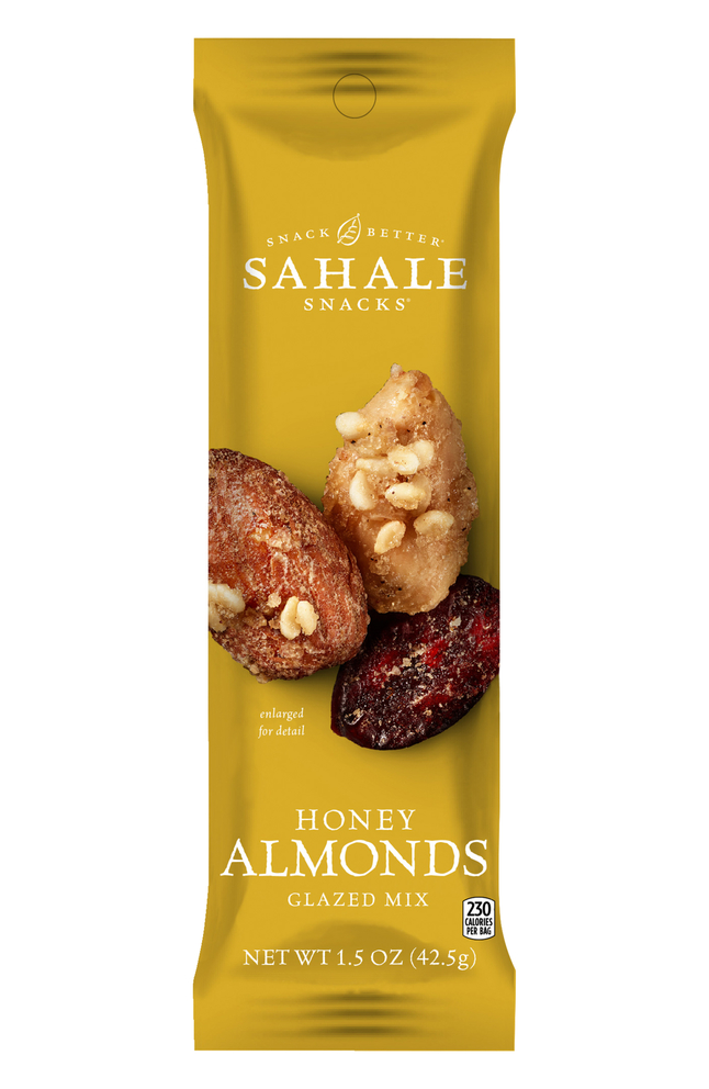 Image for Folgers Sahale Honey Almond Snack Mix, 1.5 Ounces, Case of 18 from School Specialty