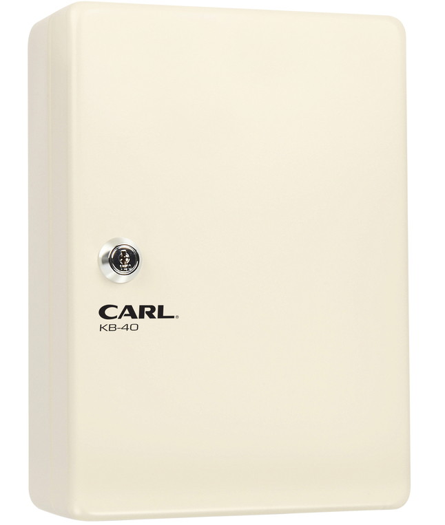 Image for Carl Mfg Steel Security Key Cabinet, 10 x 7 Inches, Ivory from School Specialty