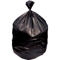 Image for Genuine Joe Low-Density Waste Bags, 45 Gallon, Black, Pack of 100 from School Specialty