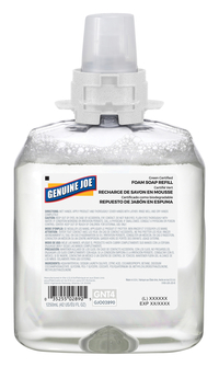 Image for Genuine Joe Green Certified Soap Refill, 42.3 Ounces from School Specialty