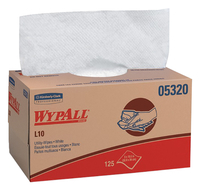 Image for Wypall L10 Utility Wipes, 1 Ply, 9 Inches x 10.25 Inches from School Specialty