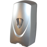 Image for Foameeze Foam Sensor Soap Dispenser with Refillable Bottle, Metallic Silver from School Specialty
