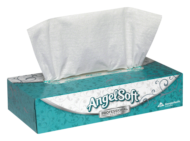 Image for Angel Soft Professional Series Facial Tissue, 2 Ply, 100 Count, Case of 30 from School Specialty