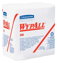 Image for Wypall X80 Folded Wipers, 12.50 Inches Width x 12 Inches Length from School Specialty