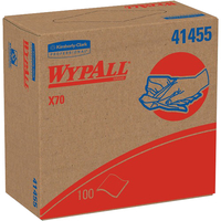 Image for Wypall X70 Cloths, 9.10 Inches x 16.80 Inches, White, Hydroknit from SSIB2BStore