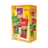 Image for Kar's Nuts Trail Mix Variety Pack - Mango Pineapple, Yogurt Apple, Sweet and Spicy, Box of 24 from School Specialty