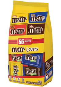 Image for M&M's Chocolate Candies Lovers Variety Bag from SSIB2BStore