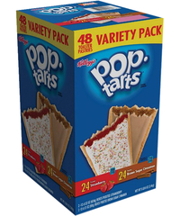 Image for Pop Tarts Pop-tarts Variety Pack, Assorted, 2.69 Pounds, Box of 48 from School Specialty