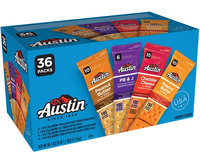 Image for Austin Sandwich Cracker Variety Case, Box of 36 from School Specialty