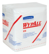 Image for Wypall X70 Wipers, Quarter-fold, 12.50 Inches x 12 Inches from SSIB2BStore