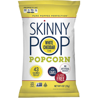 Image for SkinnyPop White Cheddar Popcorn from SSIB2BStore