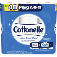 Image for Cottonelle CleanCare Bath Tissue, 340 Sheets from School Specialty